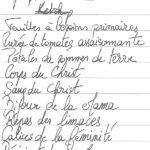 Liste de commissions