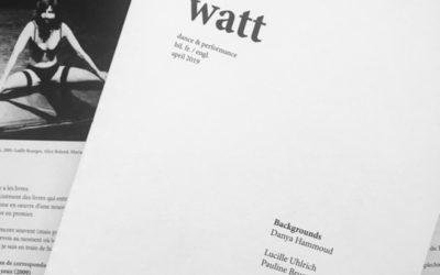 Revue Watt