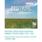 Festival la chambre verte - 2ème édition- samedi 19 septembre