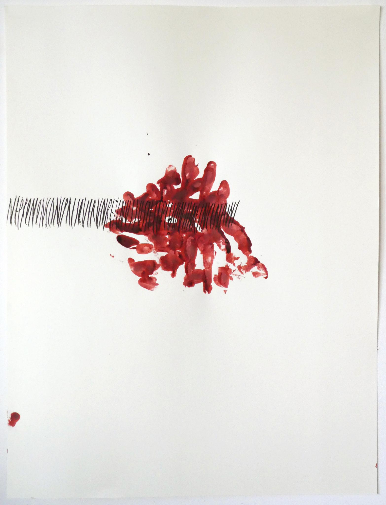 NE PRONONÇONS PRESQUE RIEN RETENUS JUSTE LE PLUS INTIME INCERTAINS, dessin, Emmanuel Aragon, 2021