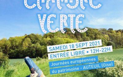 Le festival La chambre verte 18 septembre – Quand l'art envahit le vert
