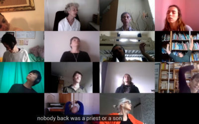 nobody back was a priest or a son