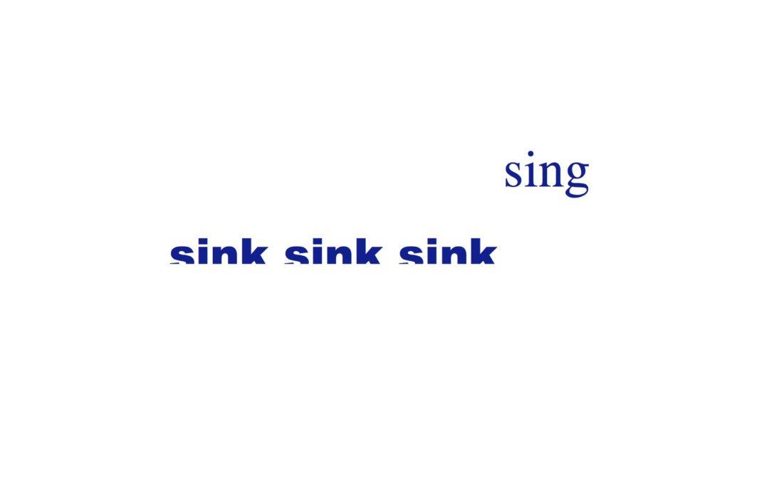 Sink Sing