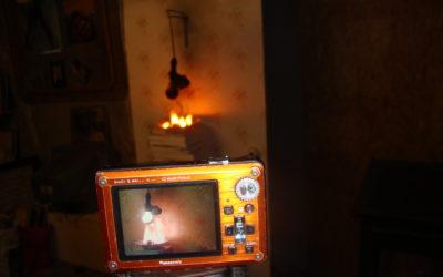 La douille voleuse – Tentative de vidéo
