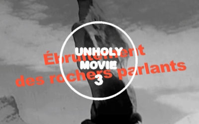 UNHOLY MOVIE – Short cut #3